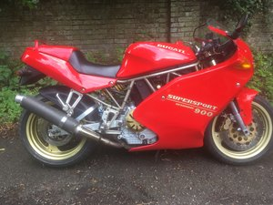 1994 ducati 900 ss sport production
