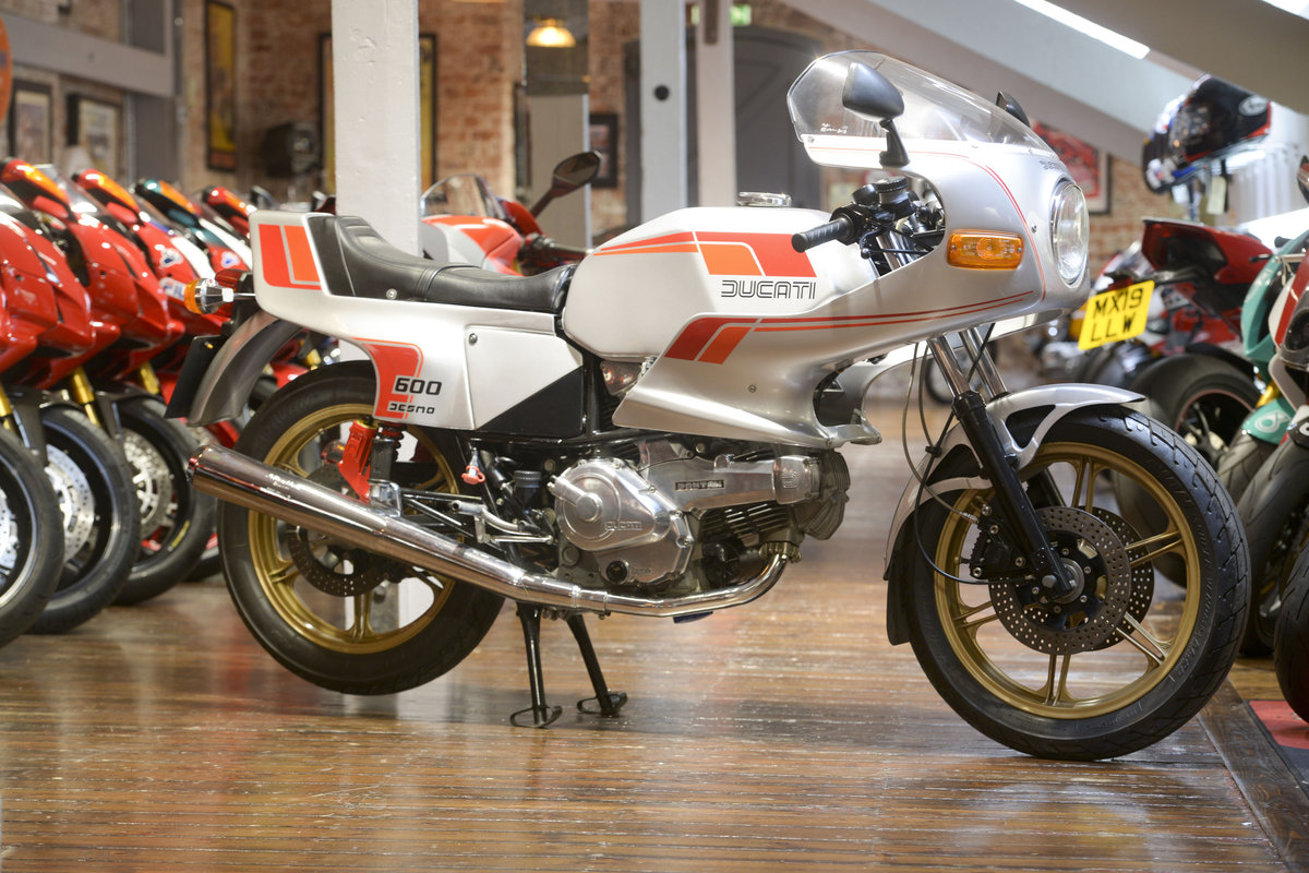 1982 Ducati 600 Pantah Desmo Concours Example For Sale (picture 1 of 6)