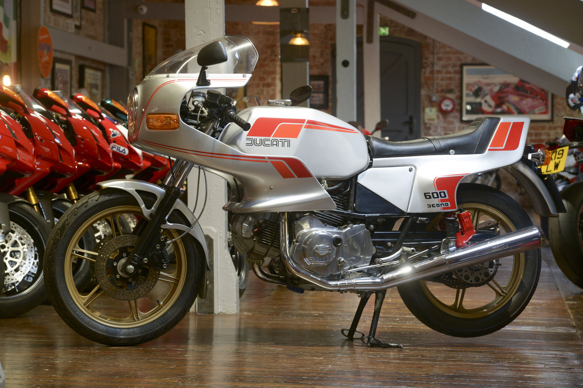 1982 Ducati 600 Pantah Desmo Concours Example For Sale (picture 6 of 6)