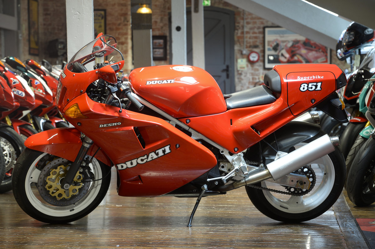 1989 Ducati 851 SP1 Concours Condition For Sale (picture 6 of 6)