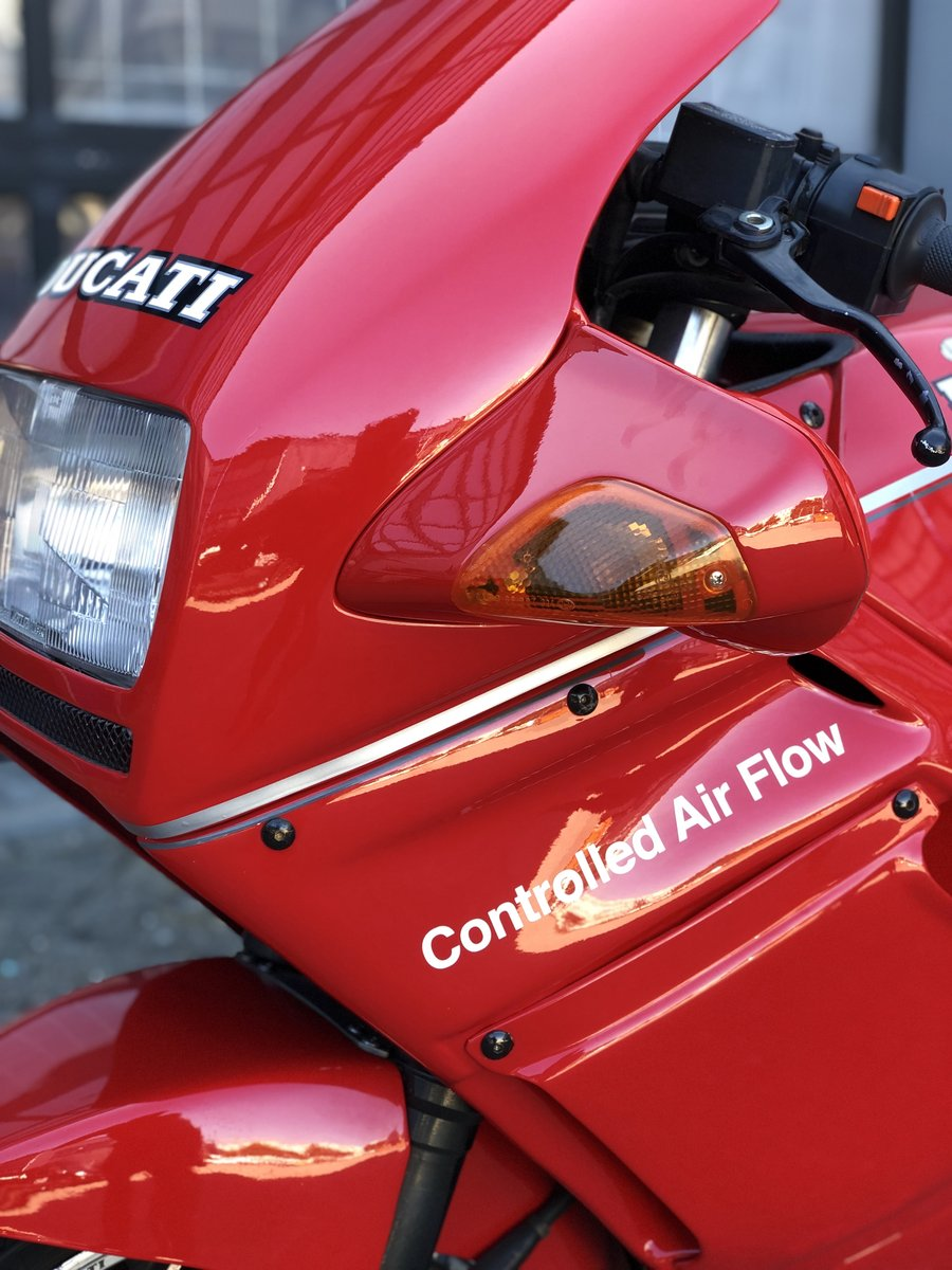 1993 Ducati 750 PASO collector bike ,top conditions SOLD (picture 3 of 6)