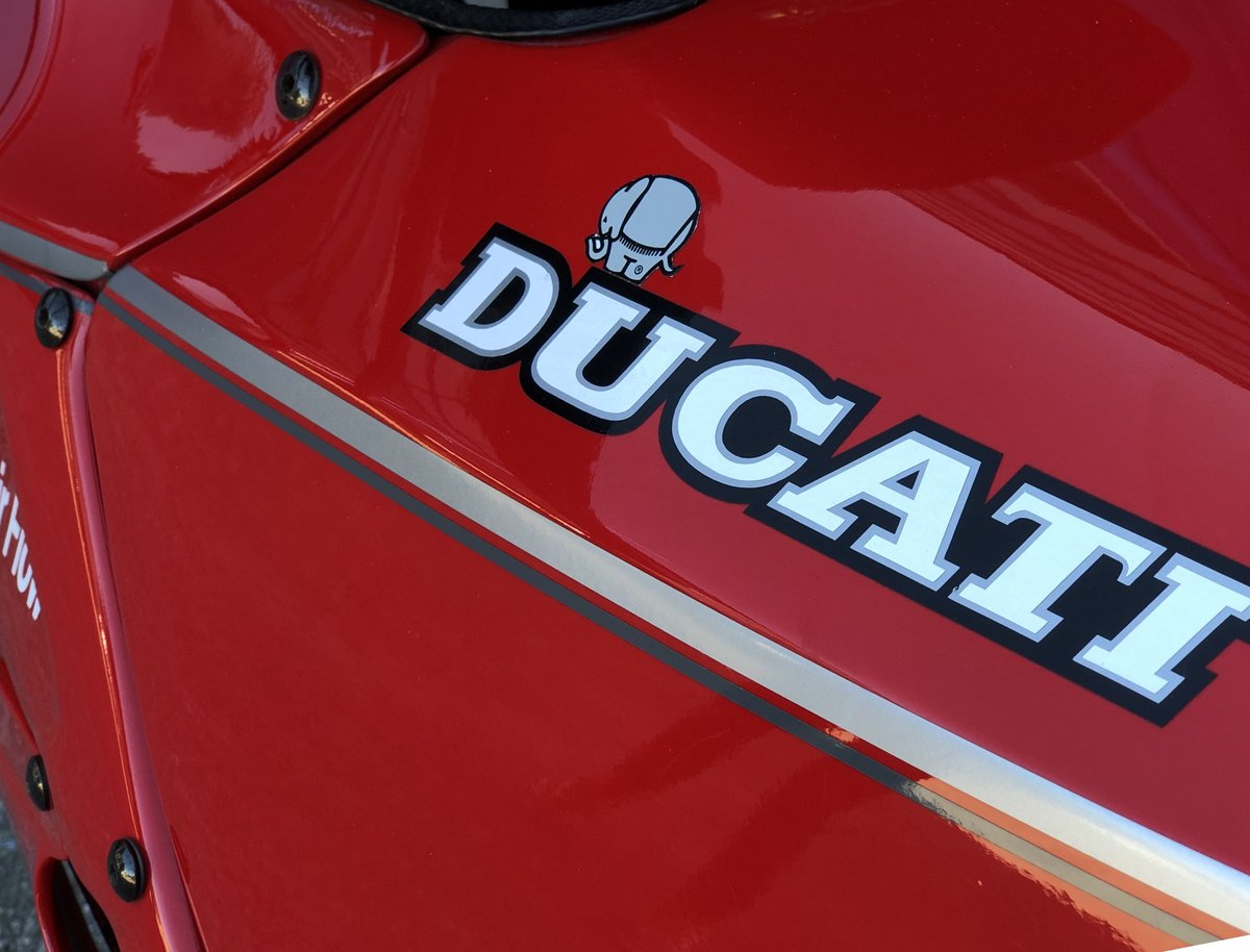 1993 Ducati 750 PASO collector bike ,top conditions SOLD (picture 5 of 6)