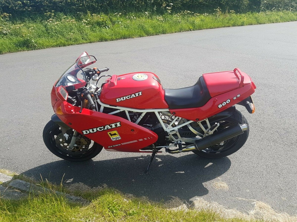 2002 Ducati 900SS low miles Excellent condition For Sale (picture 5 of 6)