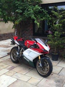 2007 Ducati 1098s Tricolore.