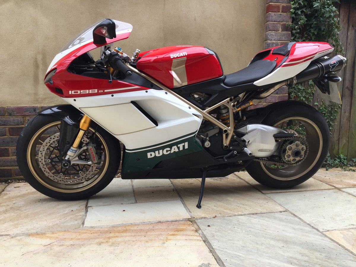 2007 Ducati 1098s Tricolore. For Sale (picture 3 of 6)