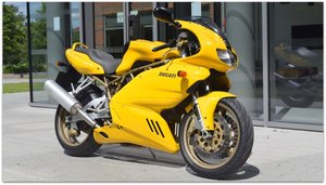 2000 Ducati 900ss with only 18k miles