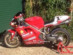 1998 Ducati 916 fogarty tribute