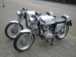 1972 Ducati 350 Silver DesmoNew unused restored  For Sale