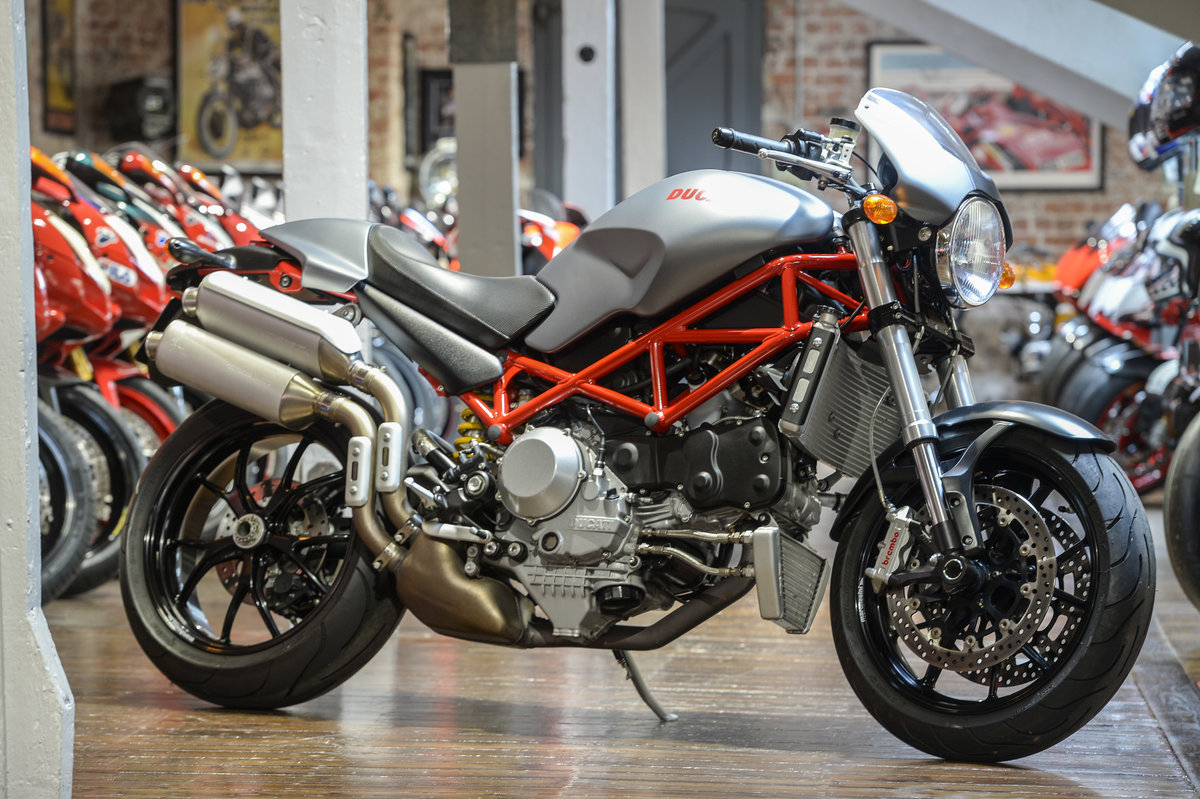 2008 Ducati Monster S4R Immaculate Example only 566 miles  For Sale (picture 1 of 6)