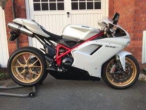 2011 Ducati 848 Evo Pearl White