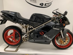 1999 Ducati 916 Senna III just 841 miles from new For Sale