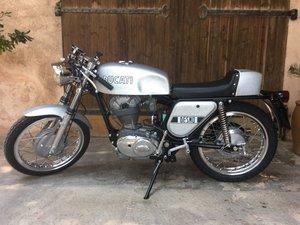 1972 Ducati 350 MK3 Desmo - Silver Shotgun