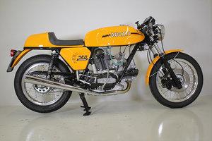 1973 Ducati 750 sport fully restored.