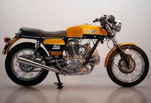 1975 Ducati GT750 fully restored. For Sale