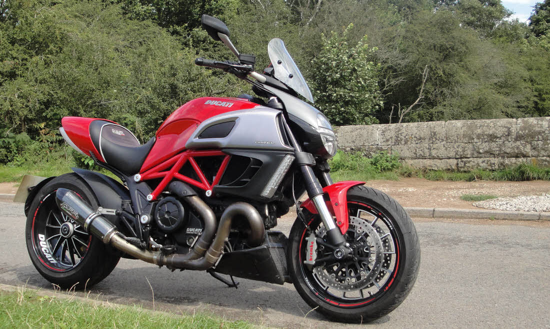 2011 Ducati Diavel For Sale by Auction (picture 3 of 6)