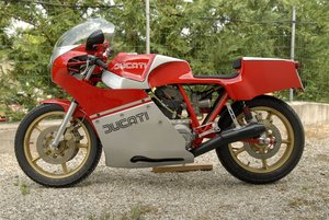 1981 Ducati Daspa NCR Replica