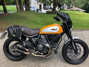 2015 Ducati Scrambler 800 as new SOLD