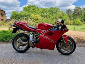 1996 DUCATI 916 BP. THREE OWNERS, 9,000 MILES! For Sale