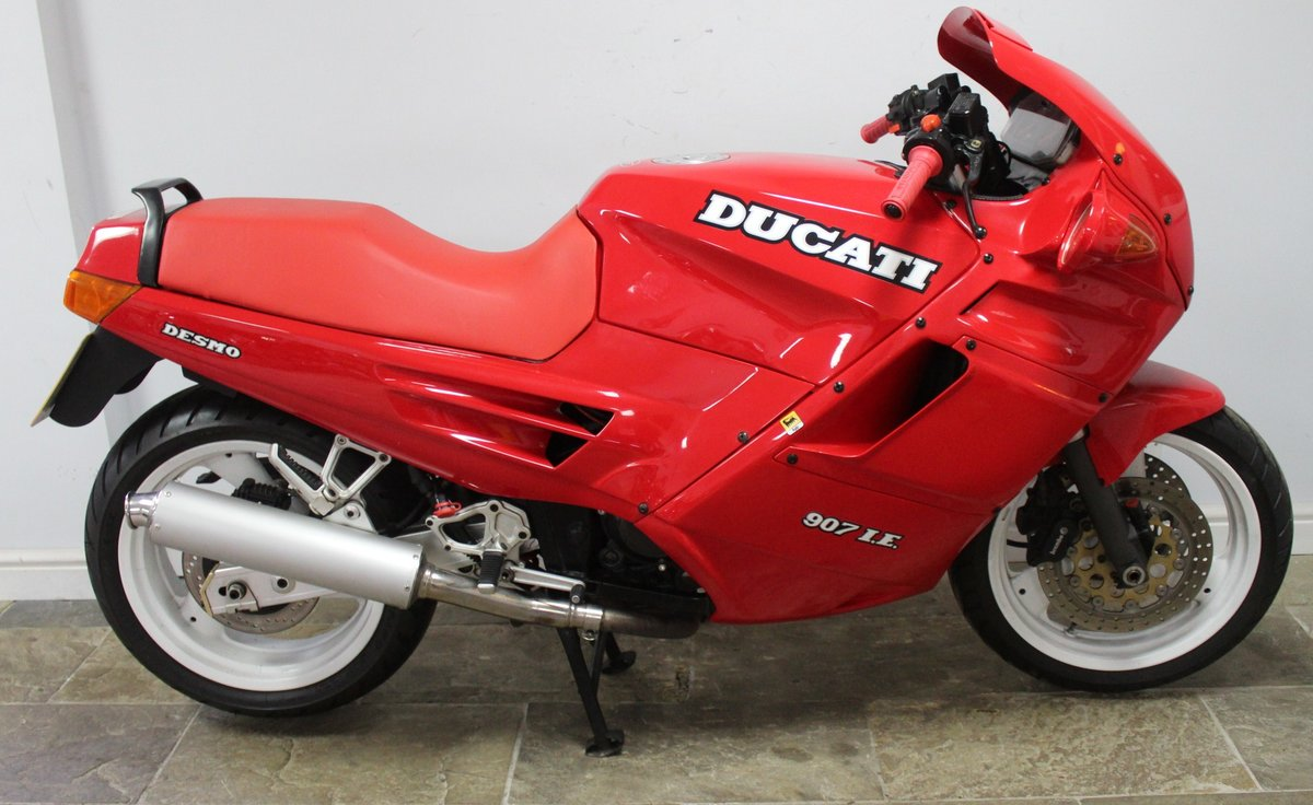 1991 Ducati 907 IE (Injection) 17,714 miles with History For Sale (picture 1 of 6)