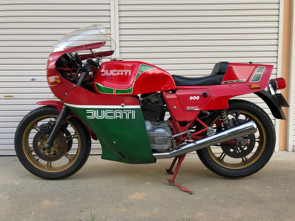 1982 Ducati Mike Heilwood Replica private For Sale (picture 1 of 6)