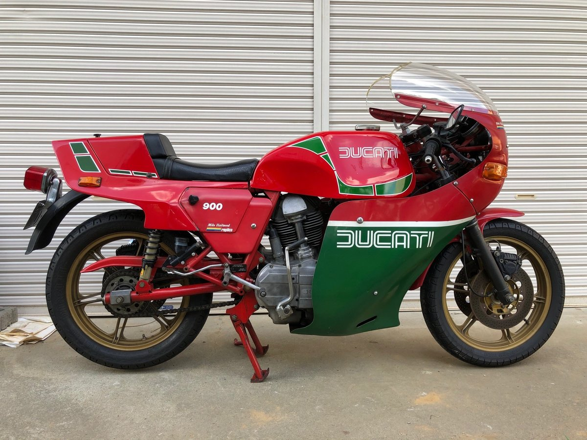 1982 Ducati Mike Heilwood Replica private For Sale (picture 4 of 6)