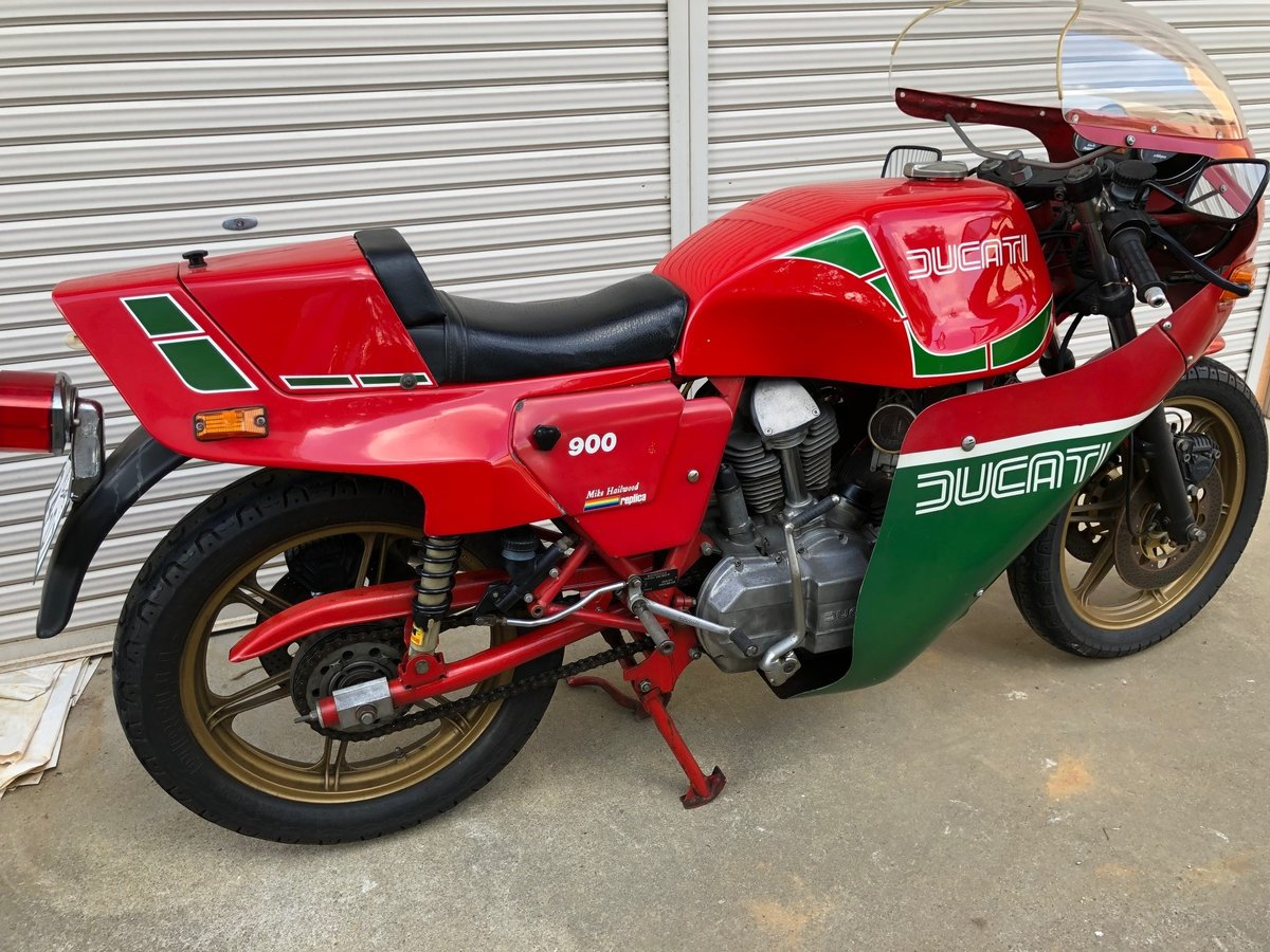 1982 Ducati Mike Heilwood Replica private For Sale (picture 5 of 6)
