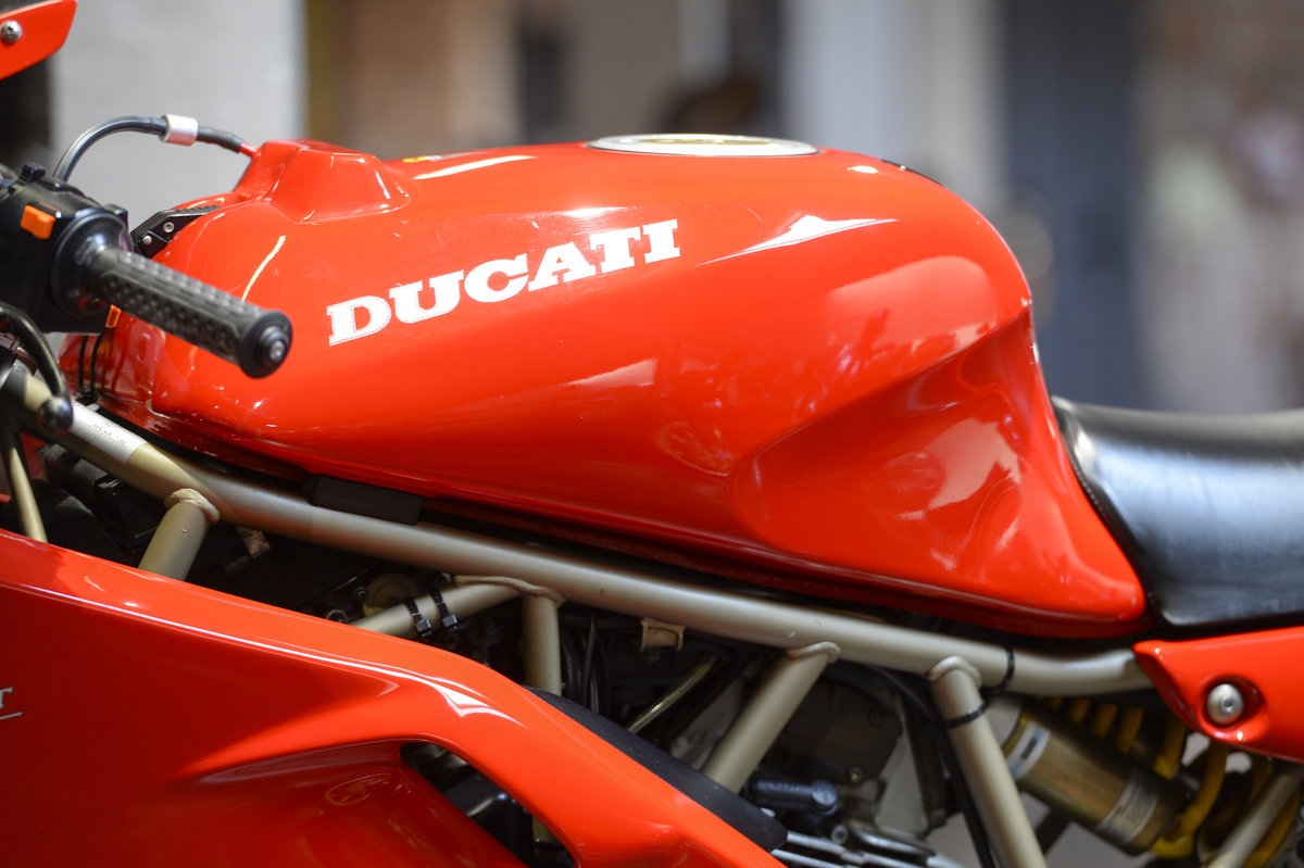 1998 Ducati 750SS LOW MILEAGE EXAMPLE ONLY 10,050 MILES For Sale (picture 6 of 6)