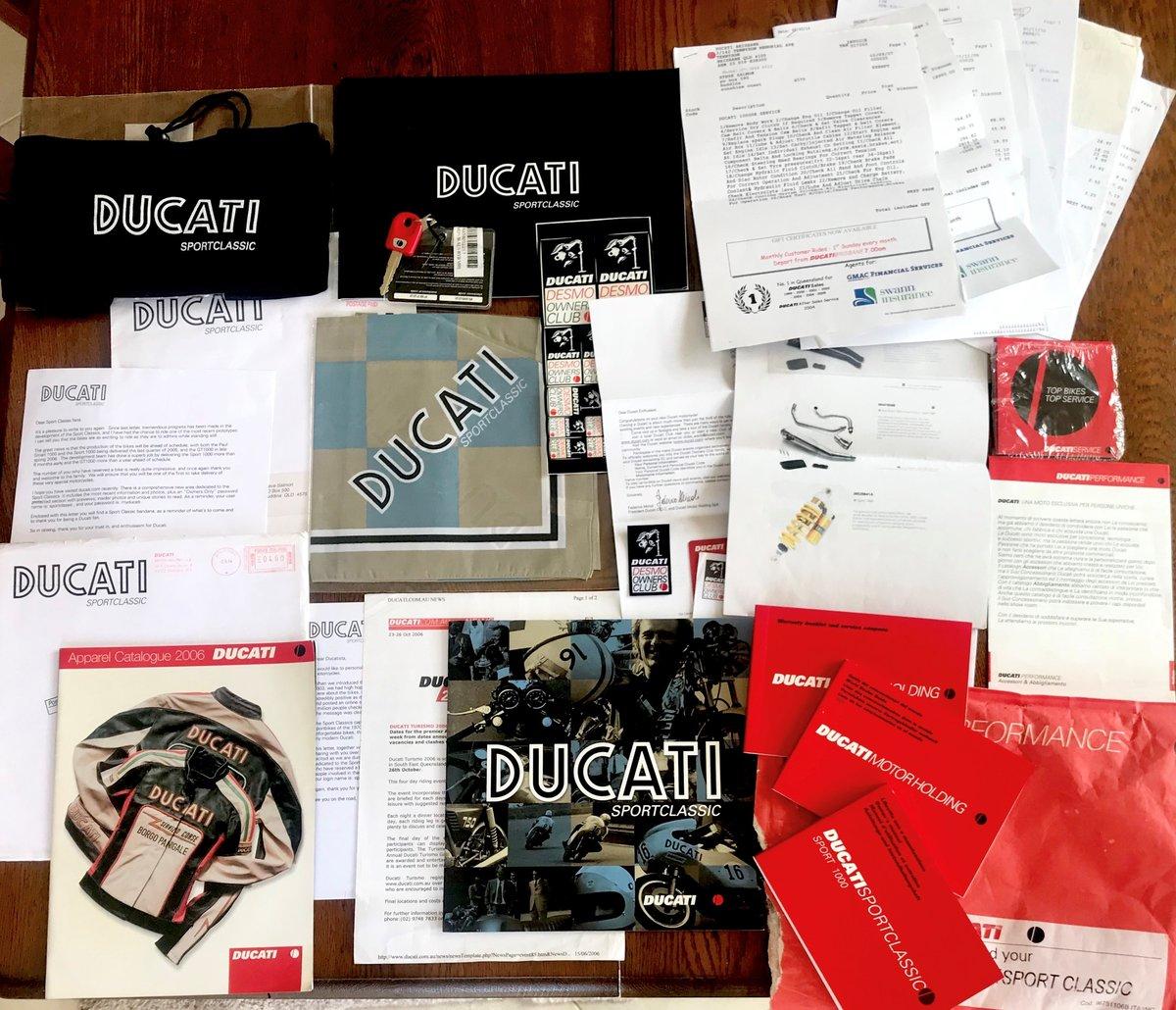 2006 Ducati Sport Classic Monoposto For Sale (picture 6 of 6)