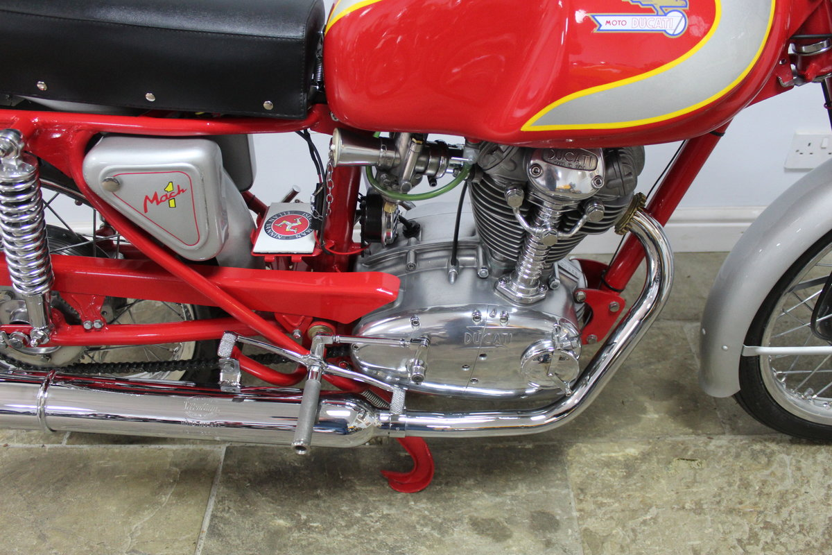 1964 Ducati Mach 1 OHC 250 cc Iconic Italian lightweight  SOLD (picture 3 of 6)