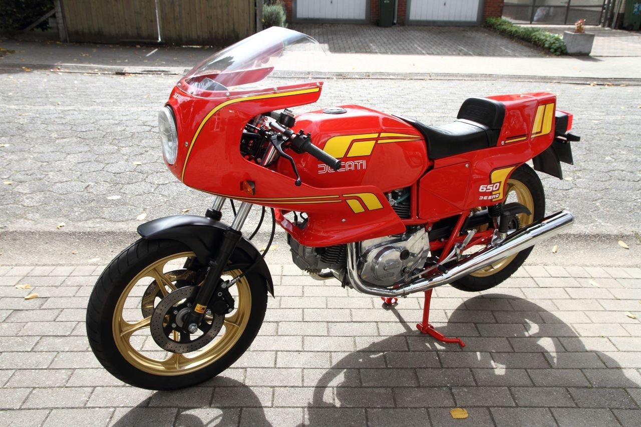 1983 Ducati Pantah 650 SL For Sale (picture 1 of 6)