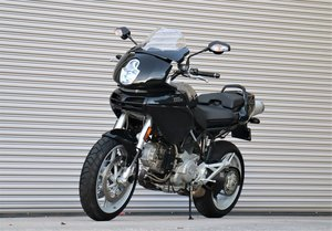 2005 Actor Bruce Willis Ducati Multistrada DS1000.