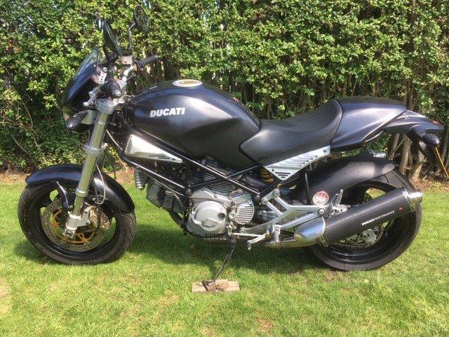 2003 Ducati M900 Dark  For Sale (picture 2 of 5)
