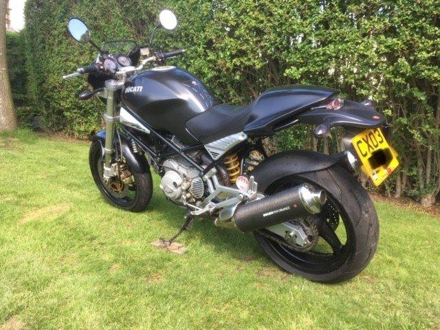2003 Ducati M900 Dark  For Sale (picture 3 of 5)