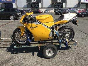 2002 Ducati 998s Yellow monoposto