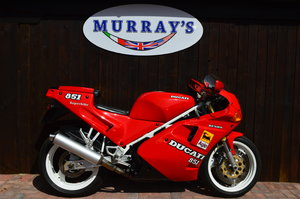 1991 Ducati 851 ,Strada ,Ohlins ,lovely original exampl For Sale