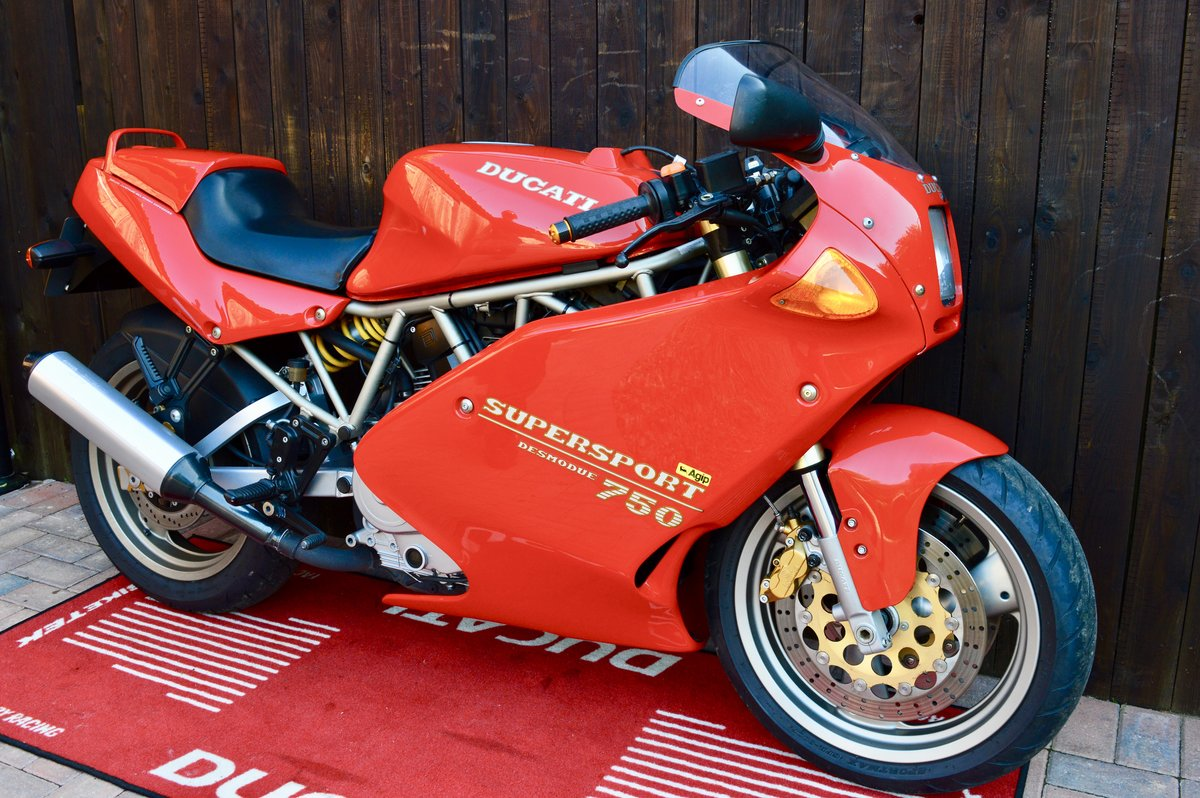 1994 Ducati 750ss, only 15,000 genuine,Stunning For Sale (picture 6 of 6)