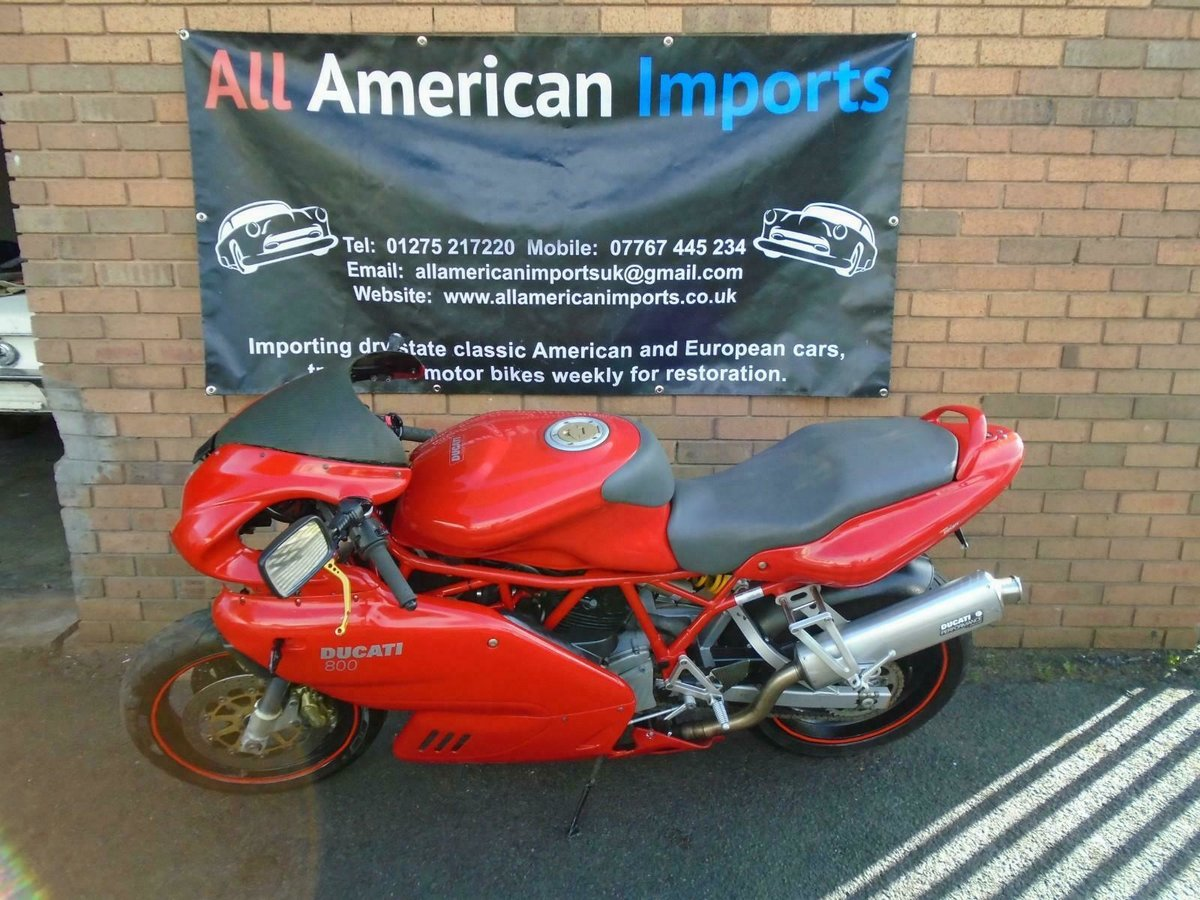 DUCATI SUPERSPORT 800 SS (2006) RED! 2 OWNERS 30K! For Sale (picture 1 of 6)