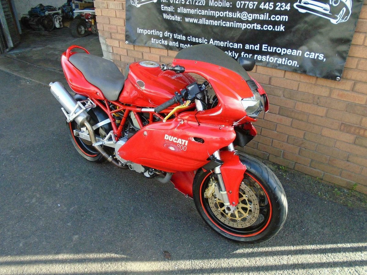 DUCATI SUPERSPORT 800 SS (2006) RED! 2 OWNERS 30K! For Sale (picture 3 of 6)