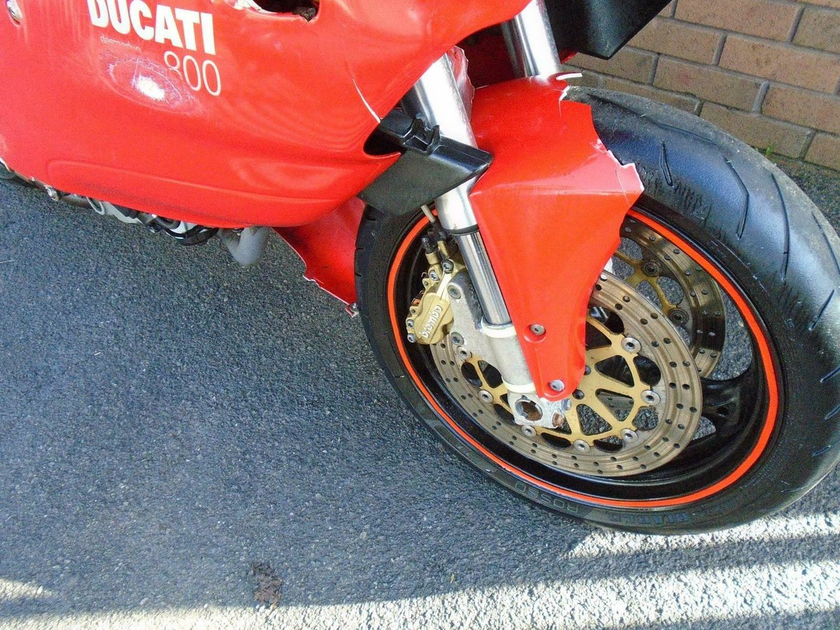 DUCATI SUPERSPORT 800 SS (2006) RED! 2 OWNERS 30K! For Sale (picture 6 of 6)