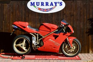 1997 Ducati 916 ,only 6400 miles, original Stunning For Sale
