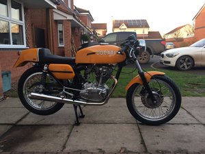 1972 Ducati Desmo 350 1974 Replica For Sale