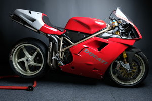1996 955 Ducati Corse BSB race bike Ex Graves For Sale
