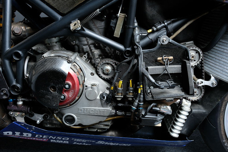 2001 Ducati 996 RS factory race bike ex BSB Emmett For Sale (picture 3 of 6)