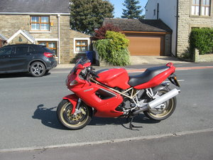 1998 S-reg Ducati ST2 944cc Sports Tourer in Red For Sale