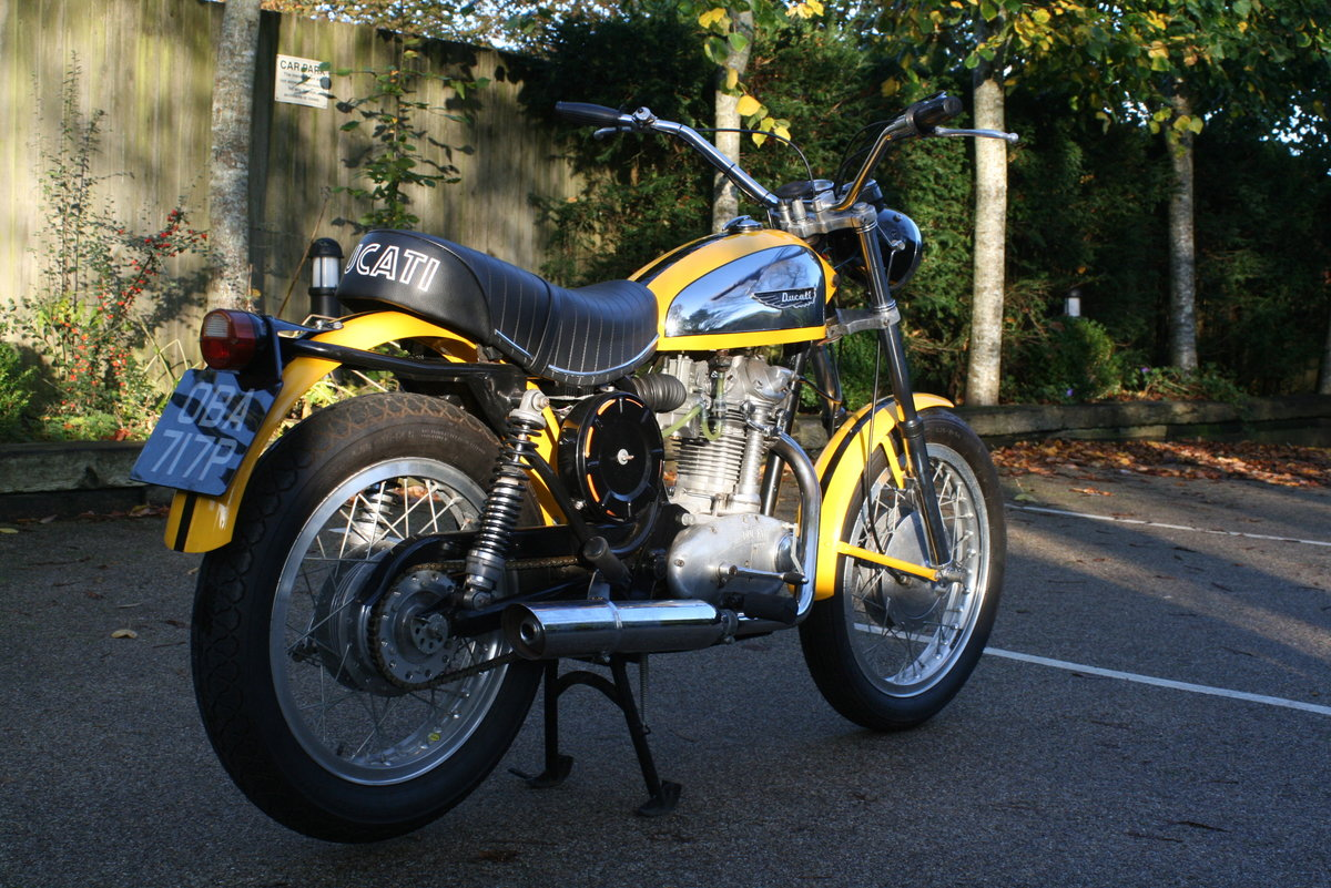 1976 STUNNING DUCATI 350 SCRAMBLER! For Sale (picture 3 of 6)
