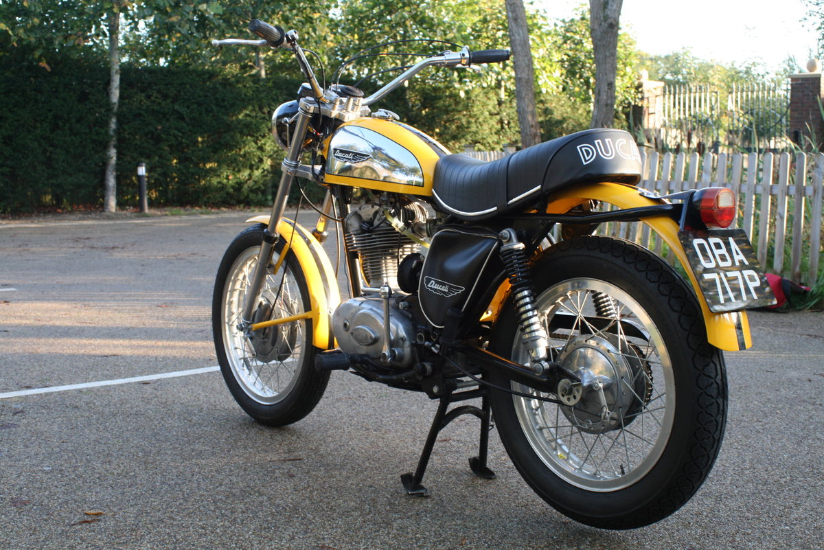 1976 STUNNING DUCATI 350 SCRAMBLER! For Sale (picture 4 of 6)
