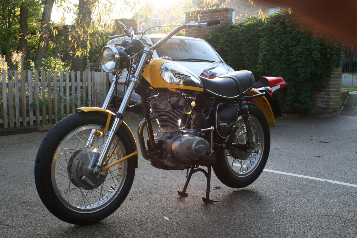 1976 STUNNING DUCATI 350 SCRAMBLER! For Sale (picture 5 of 6)