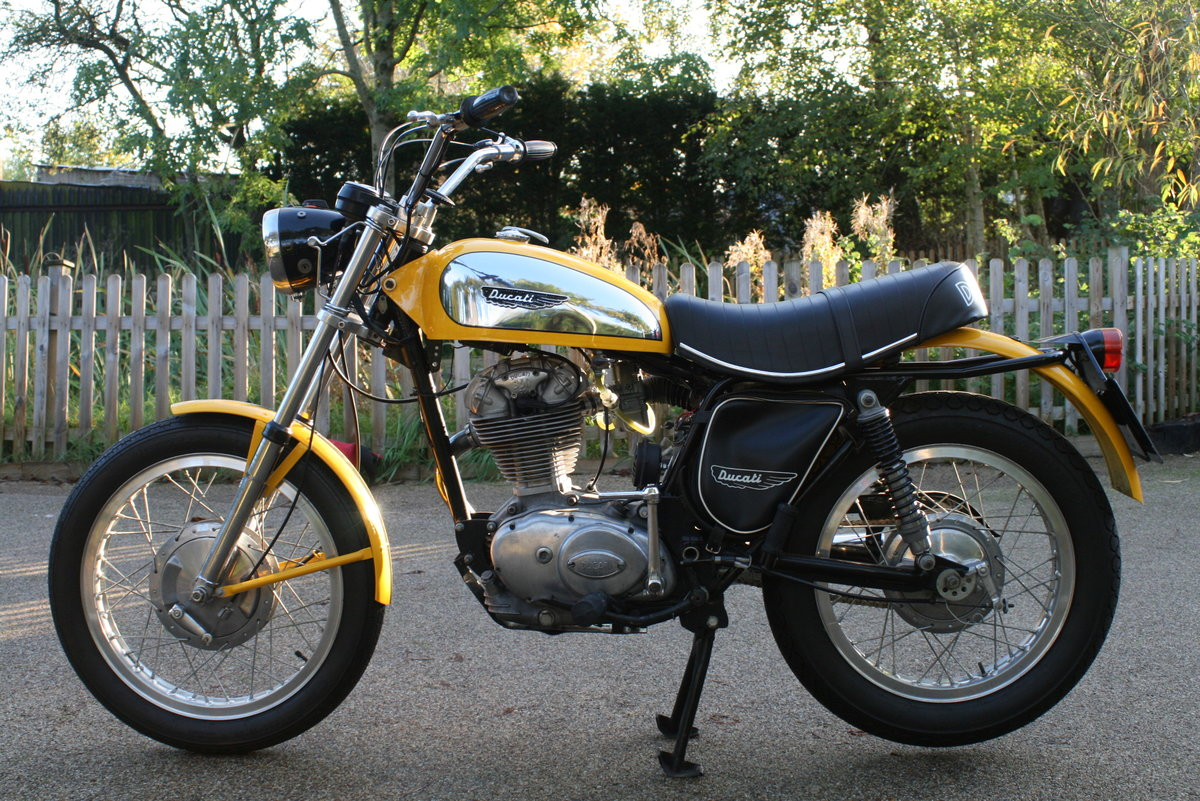 1976 STUNNING DUCATI 350 SCRAMBLER! For Sale (picture 6 of 6)