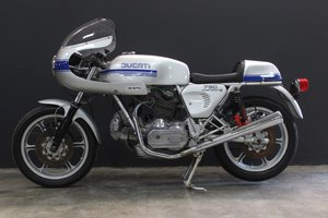 1977  DUCATI 750 SUPER SPORT SQUARE CASE 750cc Motorcycle