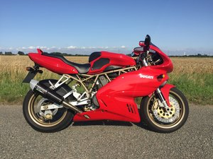 1999 Ducati 750 SS , only 7066 miles with FSH